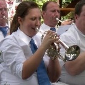 me playing with flixton band