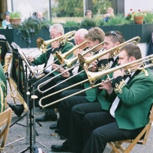Candie Gardens in 2007 - when we had 5 trombones