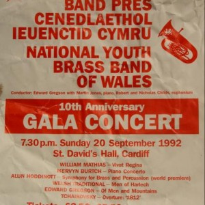 NYBBW   Poster for 10th ann concert
