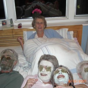Face packs all round, I love my mums halo.