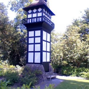 The tower of Plas Newydd.