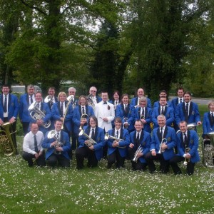 With Epsom & Ewell Silver Band at the SCABA Entertainments Contest, Crawley, May 2012