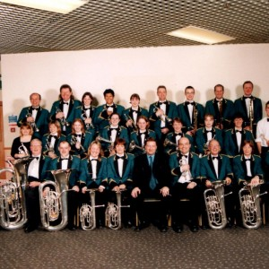 Chalford Band, Torquay 2001. After playing in Section 2 - the test piece was 'The Moor of Venice'