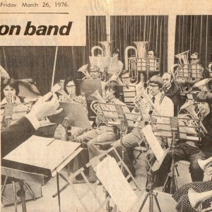 Amington Band 1976.