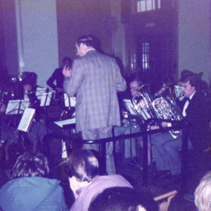 Coleshill Band. Area, 1982.