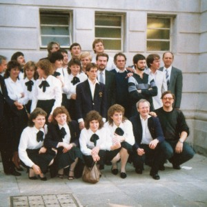 Amington Band. London Finals. 1986.
