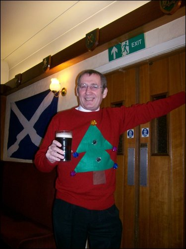 """The jumper"" modelled by Brian"
